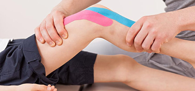 Wat is het effect van kinesio (medical) taping?